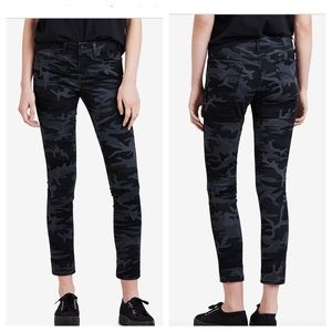 Levi's 711 Camo Ankle Skinny Jeans NEW 33